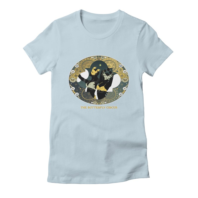 The Butterfly Circus Stars Landscape Women's Fitted T-Shirt by theatticshoppe's Artist Shop