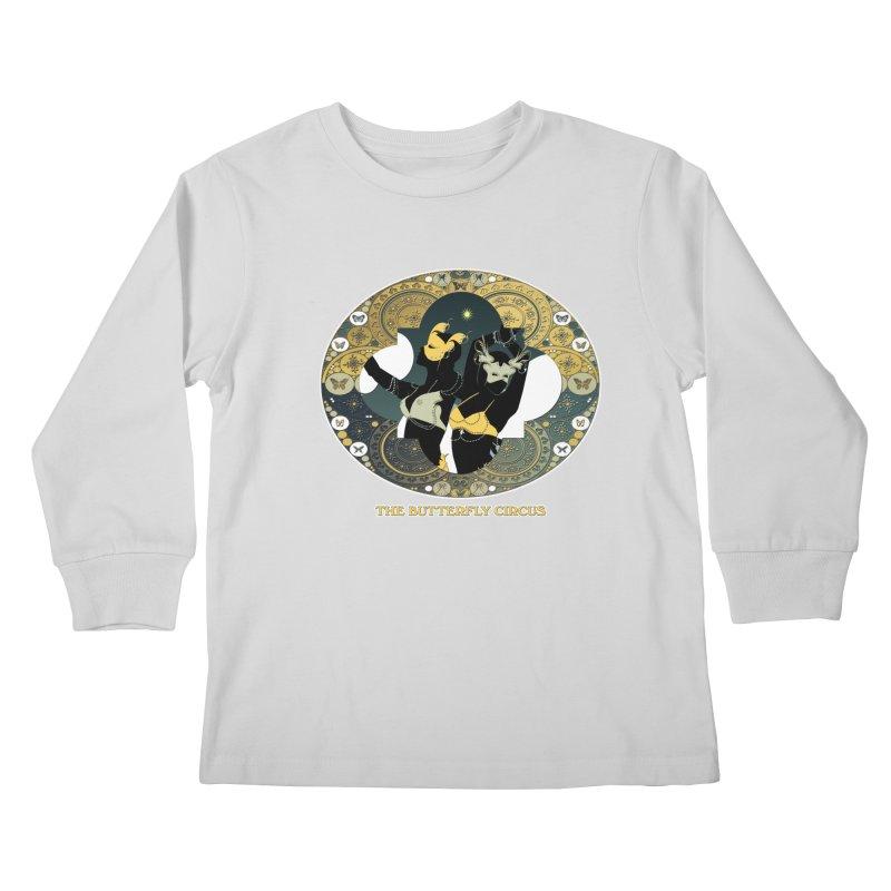 The Butterfly Circus Stars Landscape Kids Longsleeve T-Shirt by theatticshoppe's Artist Shop