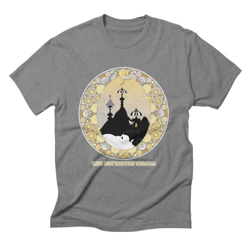 The Butterfly Circus Lenormand Mountain Design Men's T-Shirt by theatticshoppe's Artist Shop