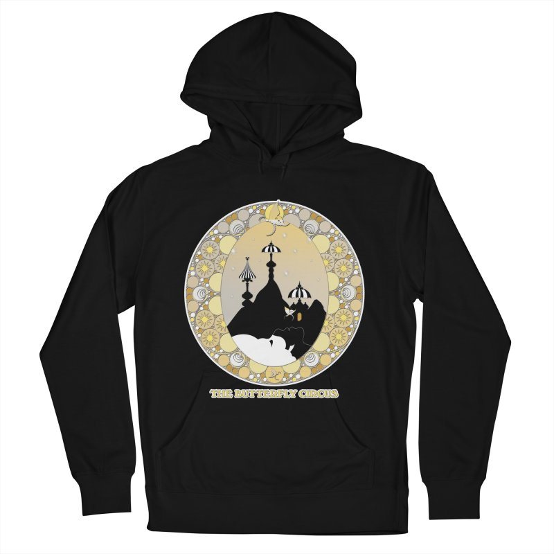 The Butterfly Circus Lenormand Mountain Design Men's French Terry Pullover Hoody by theatticshoppe's Artist Shop