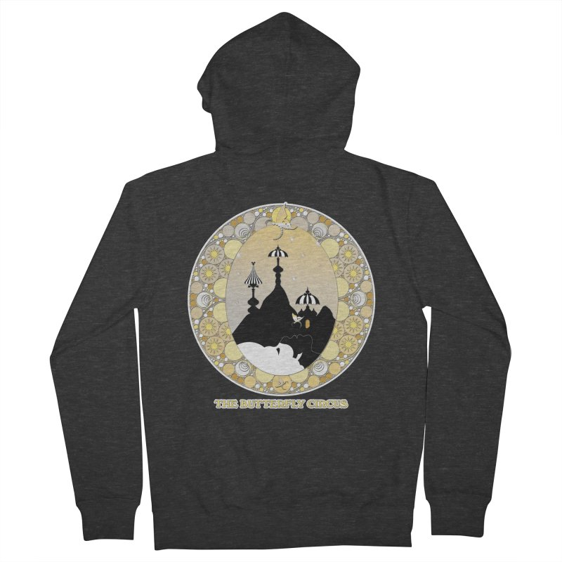 The Butterfly Circus Lenormand Mountain Design Men's Zip-Up Hoody by theatticshoppe's Artist Shop