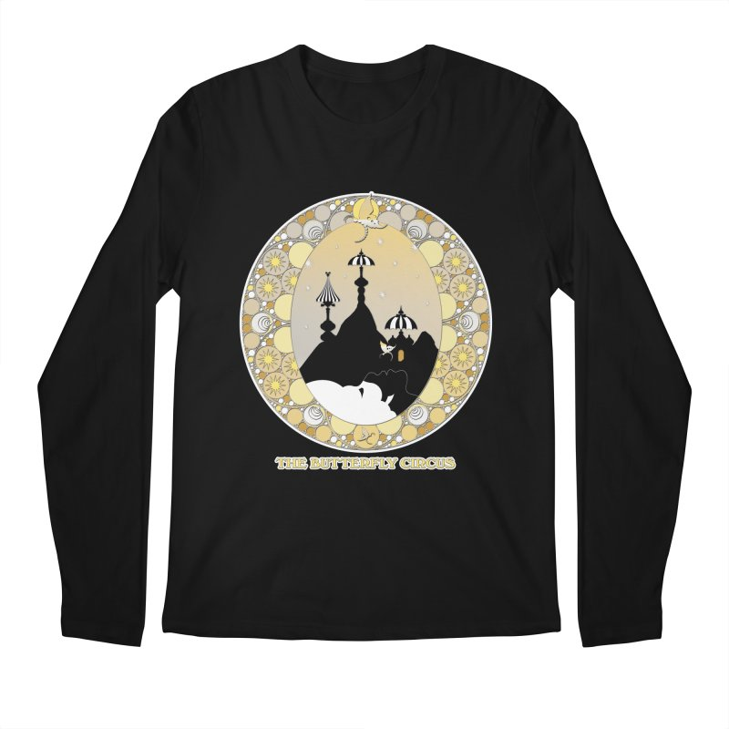 The Butterfly Circus Lenormand Mountain Design Men's Longsleeve T-Shirt by theatticshoppe's Artist Shop