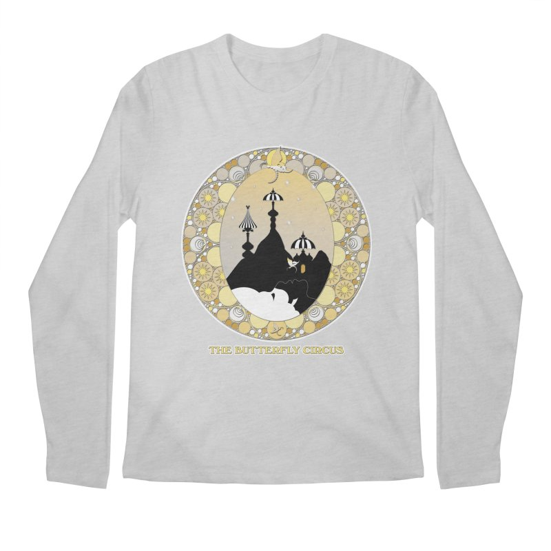 The Butterfly Circus Lenormand Mountain Design Men's Regular Longsleeve T-Shirt by theatticshoppe's Artist Shop