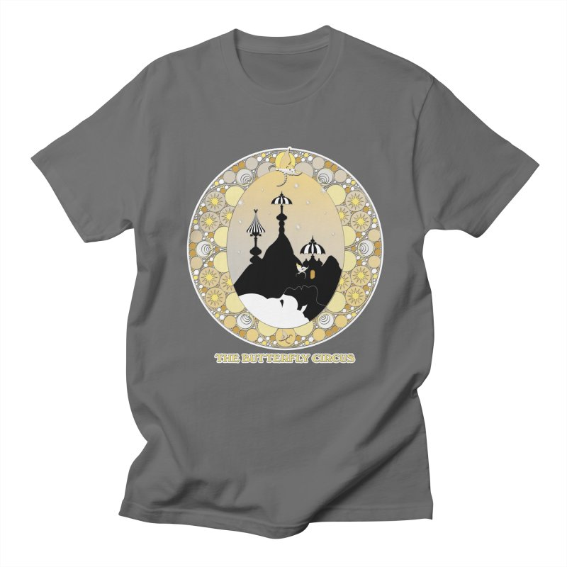 The Butterfly Circus Lenormand Mountain Design Men's T-Shirt by theatticshoppe's Artist Shop