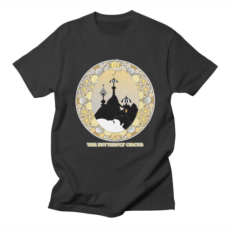 The Butterfly Circus Lenormand Mountain Design Men's Regular T-Shirt by theatticshoppe's Artist Shop