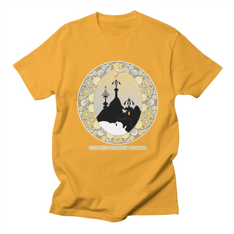 The Butterfly Circus Lenormand Mountain Design Men's Regular T-Shirt by theatticshoppe's Artist Shop