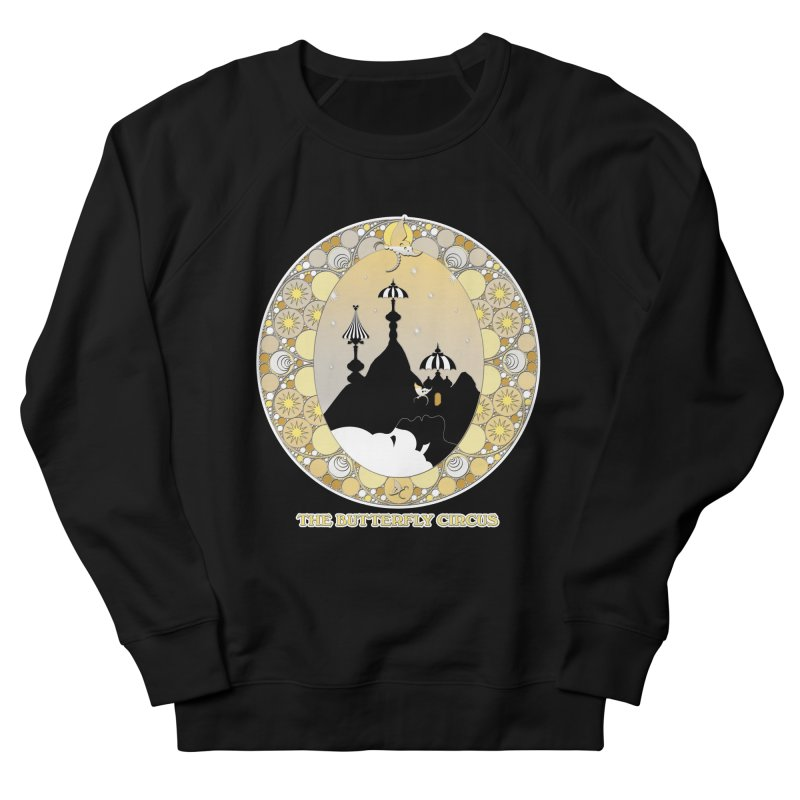 The Butterfly Circus Lenormand Mountain Design Women's French Terry Sweatshirt by theatticshoppe's Artist Shop