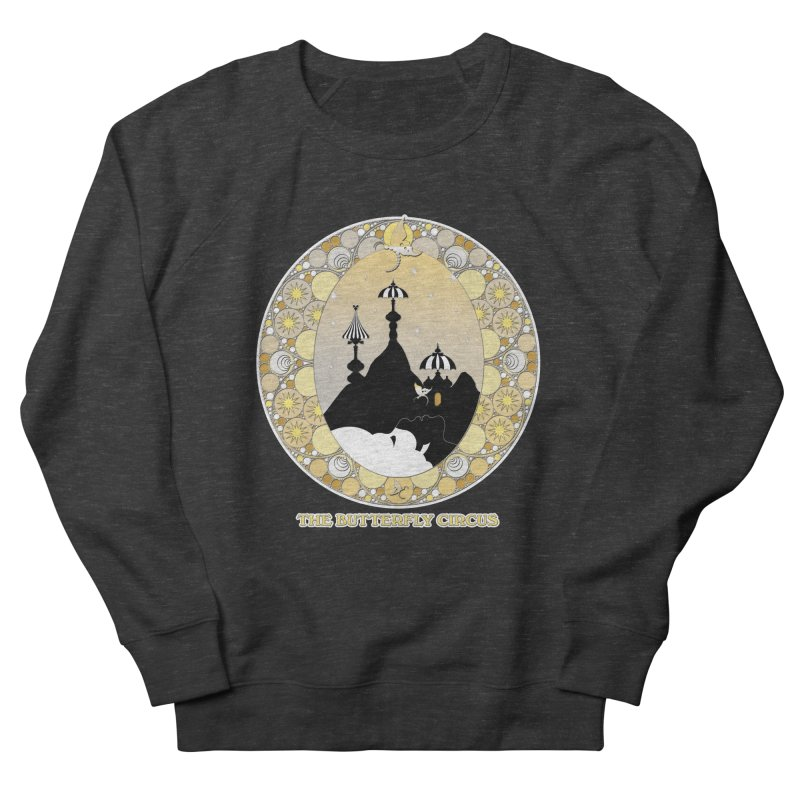The Butterfly Circus Lenormand Mountain Design Men's French Terry Sweatshirt by theatticshoppe's Artist Shop
