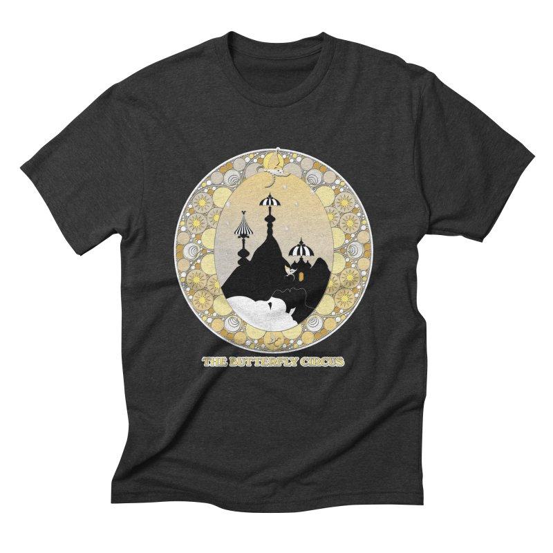 The Butterfly Circus Lenormand Mountain Design Men's Triblend T-Shirt by theatticshoppe's Artist Shop