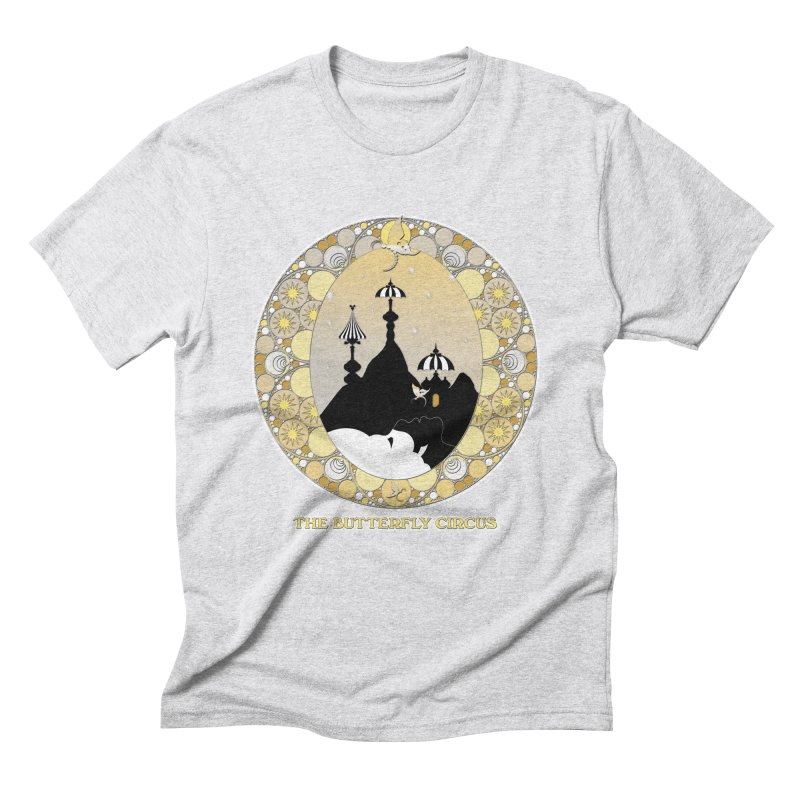 The Butterfly Circus Lenormand Mountain Design Men's Triblend T-Shirt by theatticshoppe's Artist Shop