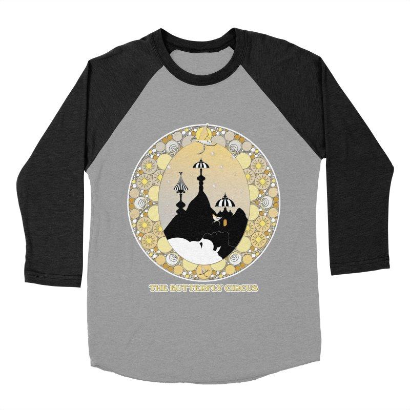 The Butterfly Circus Lenormand Mountain Design Men's Baseball Triblend Longsleeve T-Shirt by theatticshoppe's Artist Shop