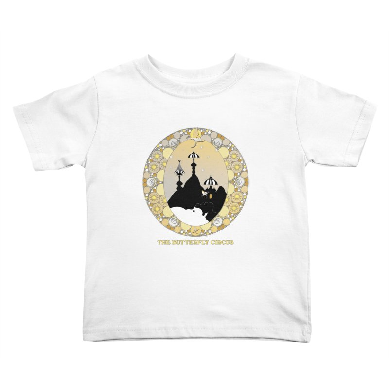 The Butterfly Circus Lenormand Mountain Design Kids Toddler T-Shirt by theatticshoppe's Artist Shop