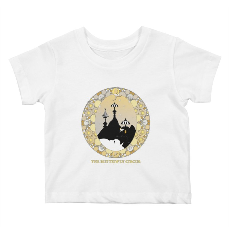 The Butterfly Circus Lenormand Mountain Design Kids Baby T-Shirt by theatticshoppe's Artist Shop