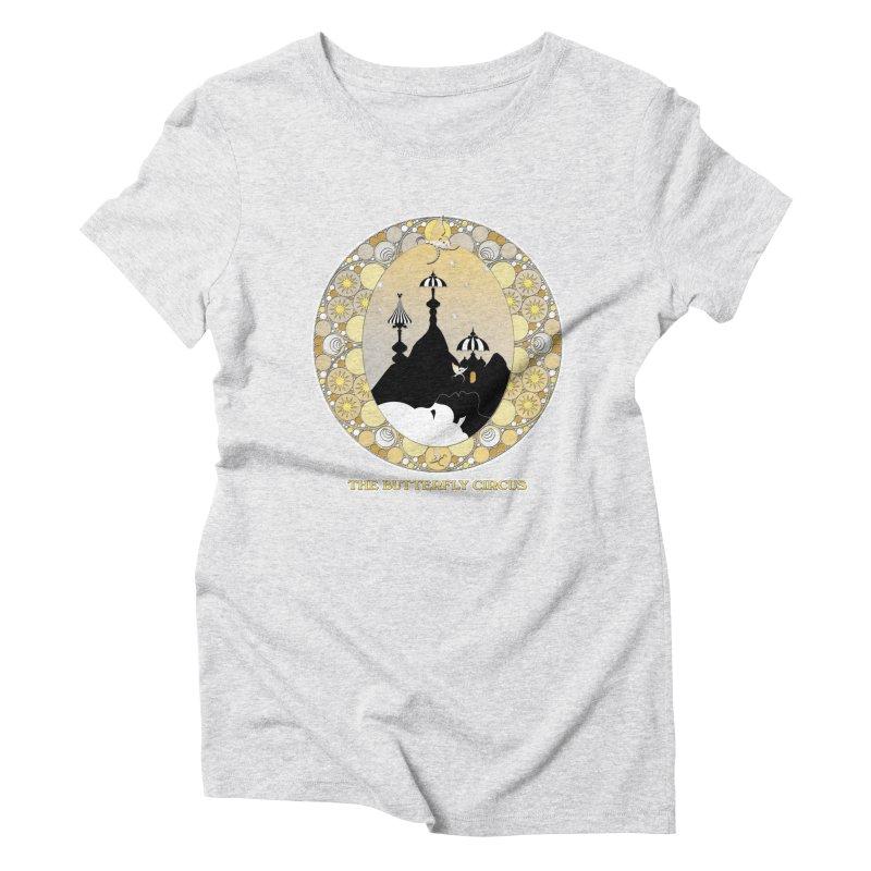 The Butterfly Circus Lenormand Mountain Design Women's T-Shirt by theatticshoppe's Artist Shop