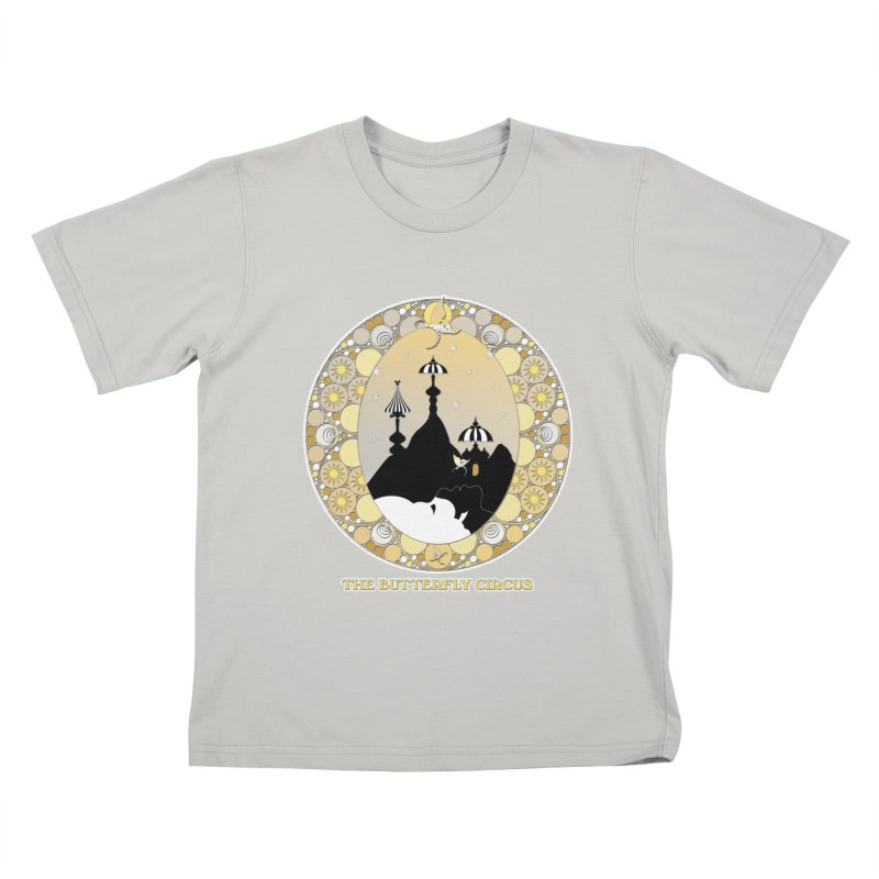 The Butterfly Circus Lenormand Mountain Design Kids T-Shirt by theatticshoppe's Artist Shop