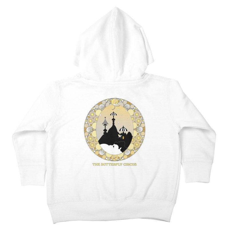 The Butterfly Circus Lenormand Mountain Design Kids Toddler Zip-Up Hoody by theatticshoppe's Artist Shop