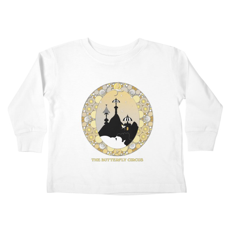 The Butterfly Circus Lenormand Mountain Design Kids Toddler Longsleeve T-Shirt by theatticshoppe's Artist Shop