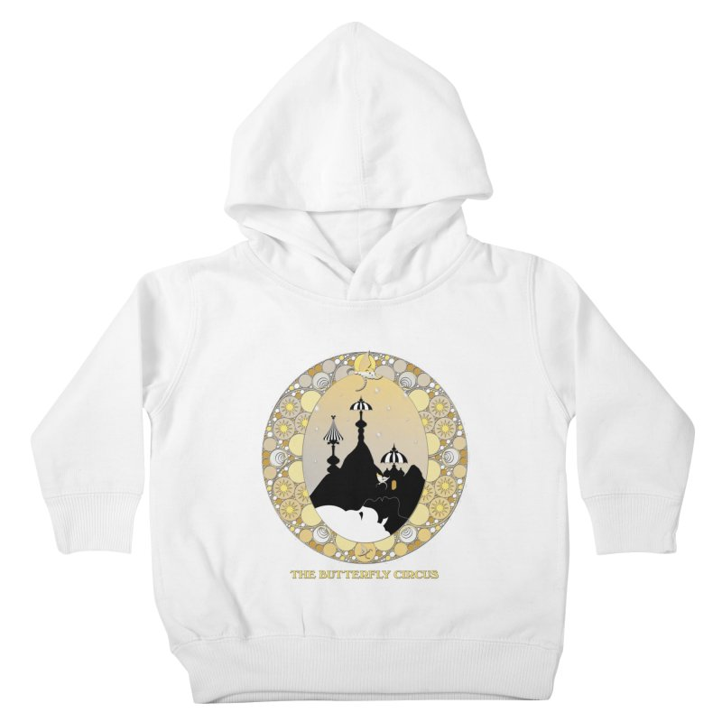 The Butterfly Circus Lenormand Mountain Design Kids Toddler Pullover Hoody by theatticshoppe's Artist Shop