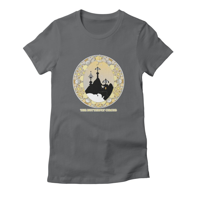 The Butterfly Circus Lenormand Mountain Design Women's T-Shirt by theatticshoppe's Artist Shop