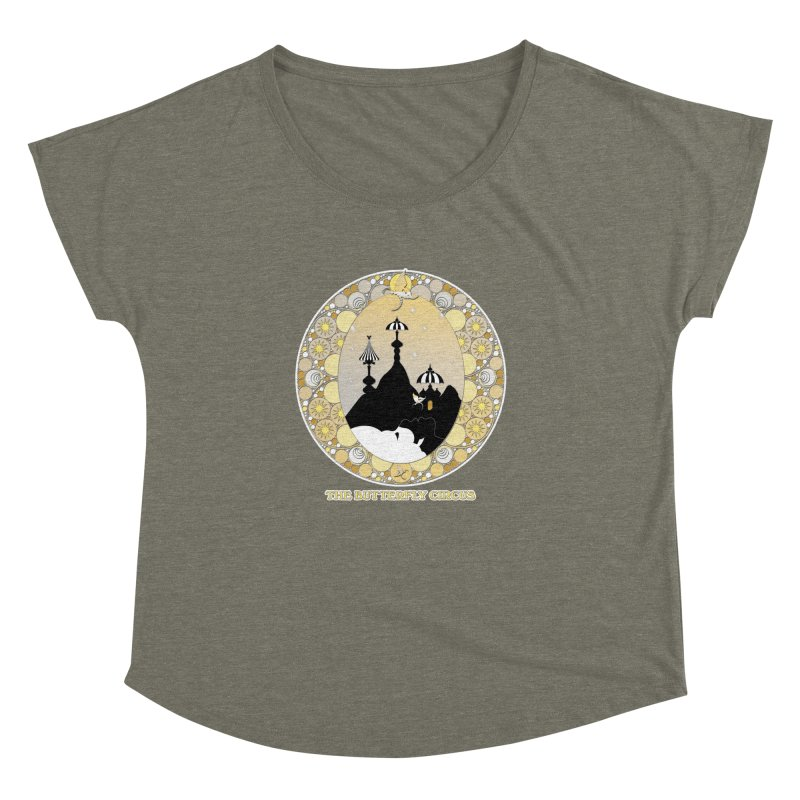 The Butterfly Circus Lenormand Mountain Design Women's Dolman by theatticshoppe's Artist Shop