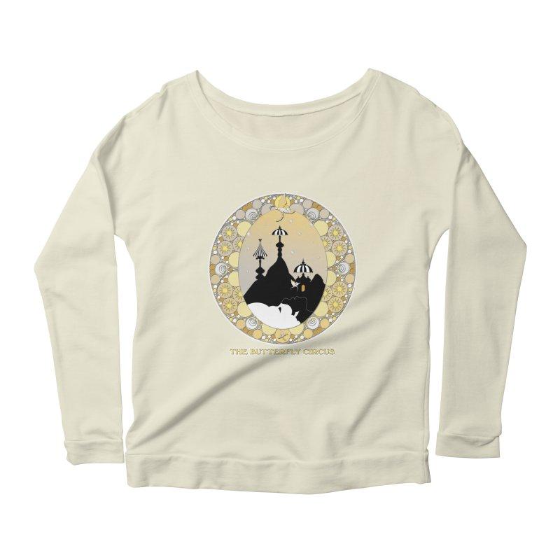 The Butterfly Circus Lenormand Mountain Design Women's Scoop Neck Longsleeve T-Shirt by theatticshoppe's Artist Shop
