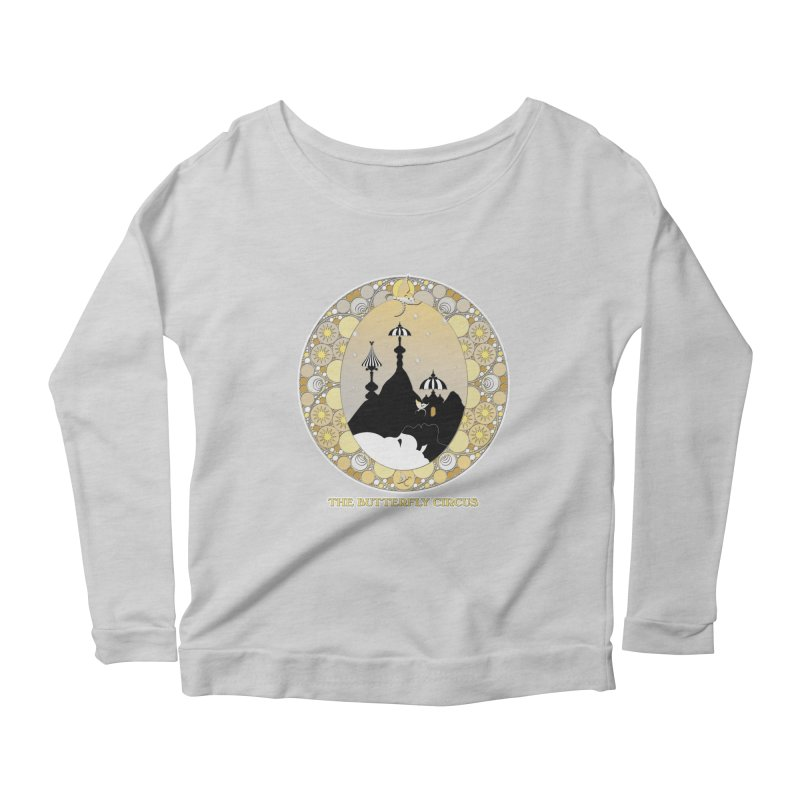The Butterfly Circus Lenormand Mountain Design Women's Scoop Neck Longsleeve T-Shirt by theatticshoppe's Artist Shop