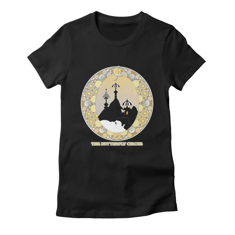 The Butterfly Circus Lenormand Mountain Design Women's Fitted T-Shirt by theatticshoppe's Artist Shop