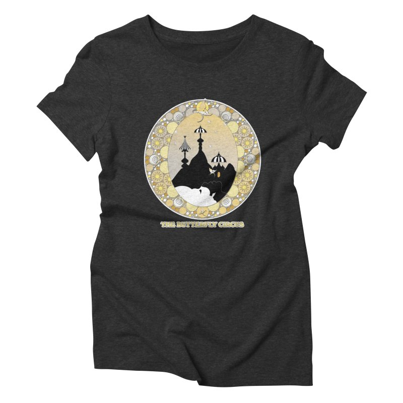 The Butterfly Circus Lenormand Mountain Design Women's Triblend T-Shirt by theatticshoppe's Artist Shop