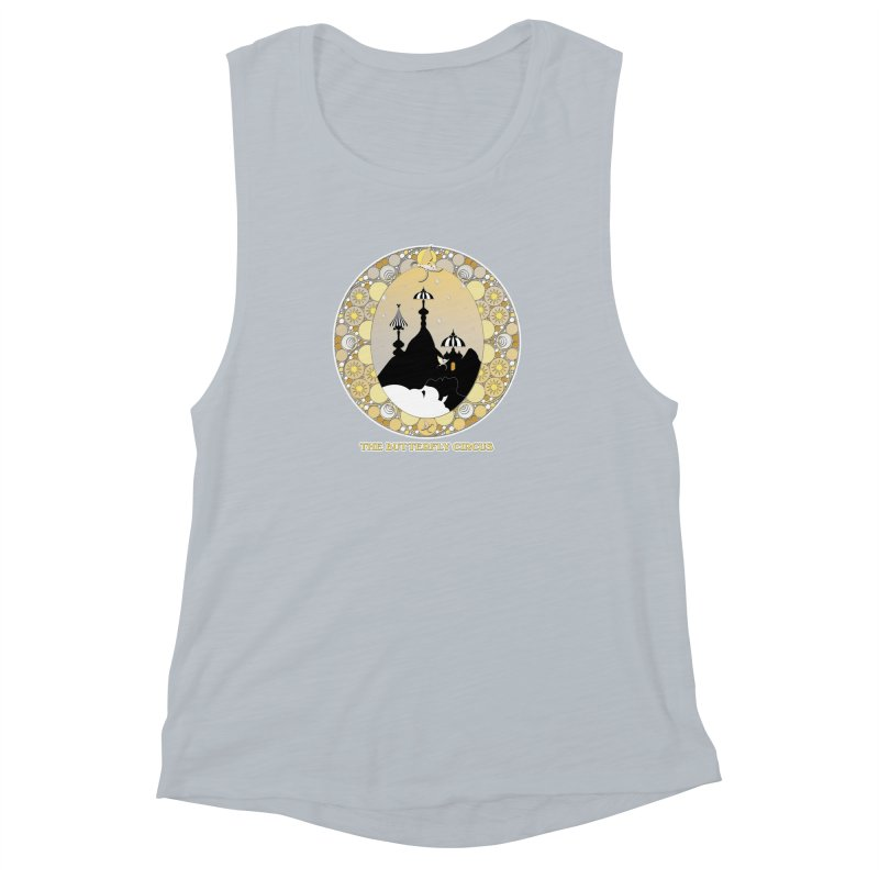 The Butterfly Circus Lenormand Mountain Design Women's Muscle Tank by theatticshoppe's Artist Shop