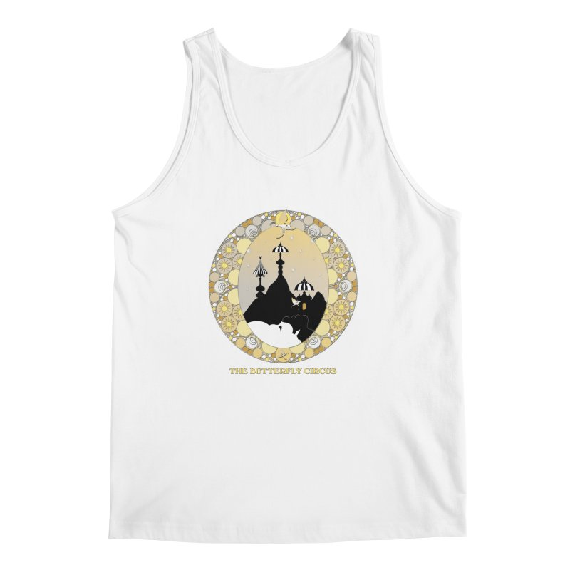 The Butterfly Circus Lenormand Mountain Design Men's Tank by theatticshoppe's Artist Shop