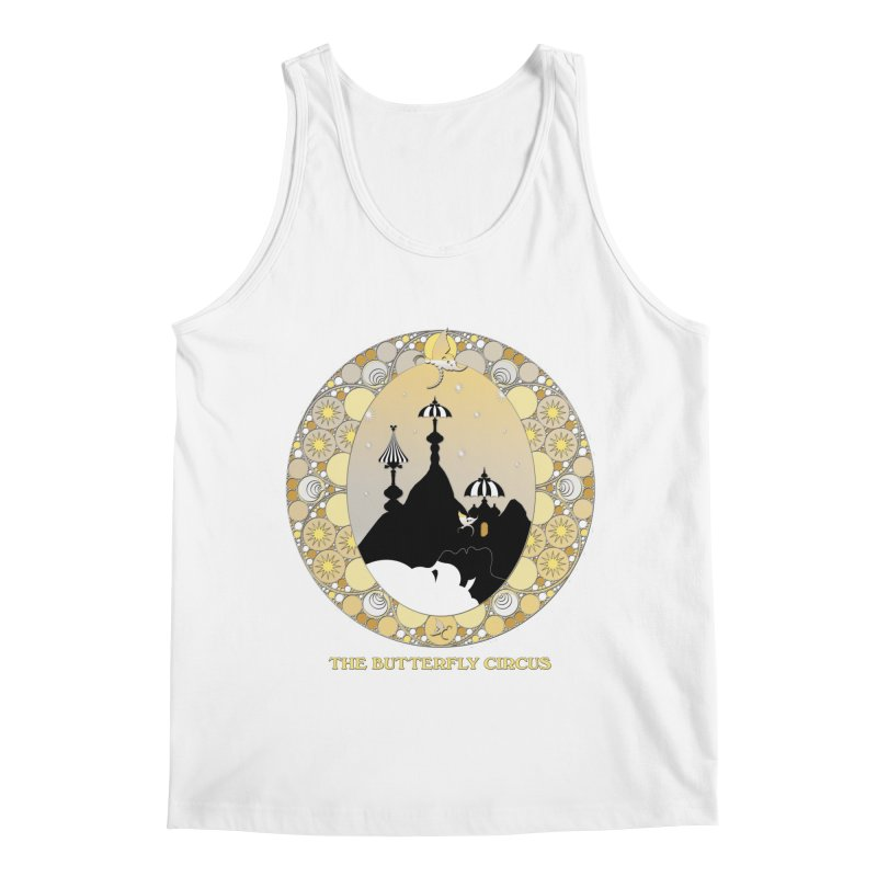 The Butterfly Circus Lenormand Mountain Design Men's Regular Tank by theatticshoppe's Artist Shop