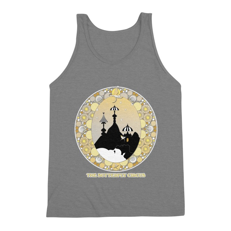 The Butterfly Circus Lenormand Mountain Design Men's Triblend Tank by theatticshoppe's Artist Shop