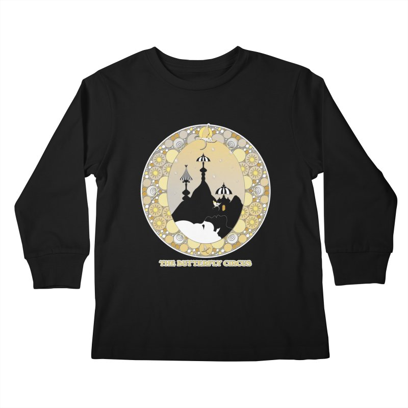 The Butterfly Circus Lenormand Mountain Design Kids Longsleeve T-Shirt by theatticshoppe's Artist Shop
