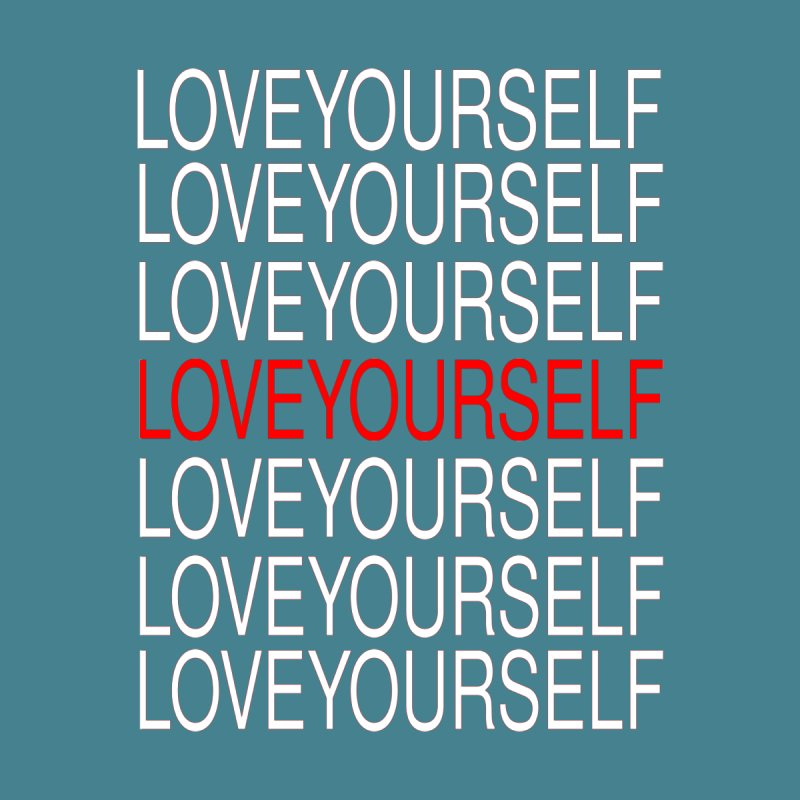LOVE YOURSELF Accessories Face Mask by theawkwardmind's Artist Shop