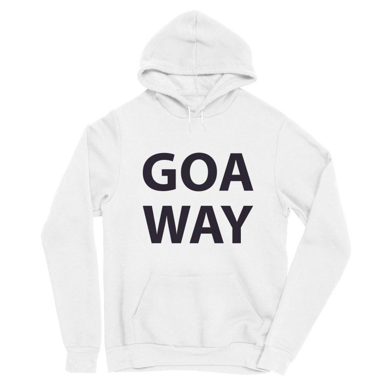 GO AWAY Women's Pullover Hoody by theawkwardmind's Artist Shop