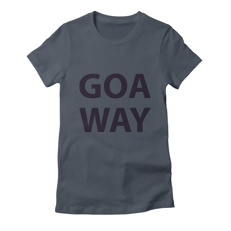 GO AWAY Women's T-Shirt by theawkwardmind's Artist Shop