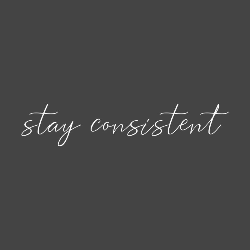 Stay Consistent White Women's Pullover Hoody by theawkwardmind's Artist Shop