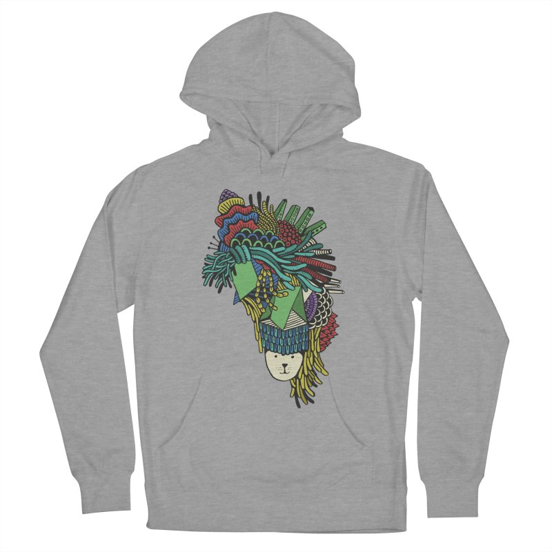 Colorful Vegetables Men's French Terry Pullover Hoody by The Babybirds