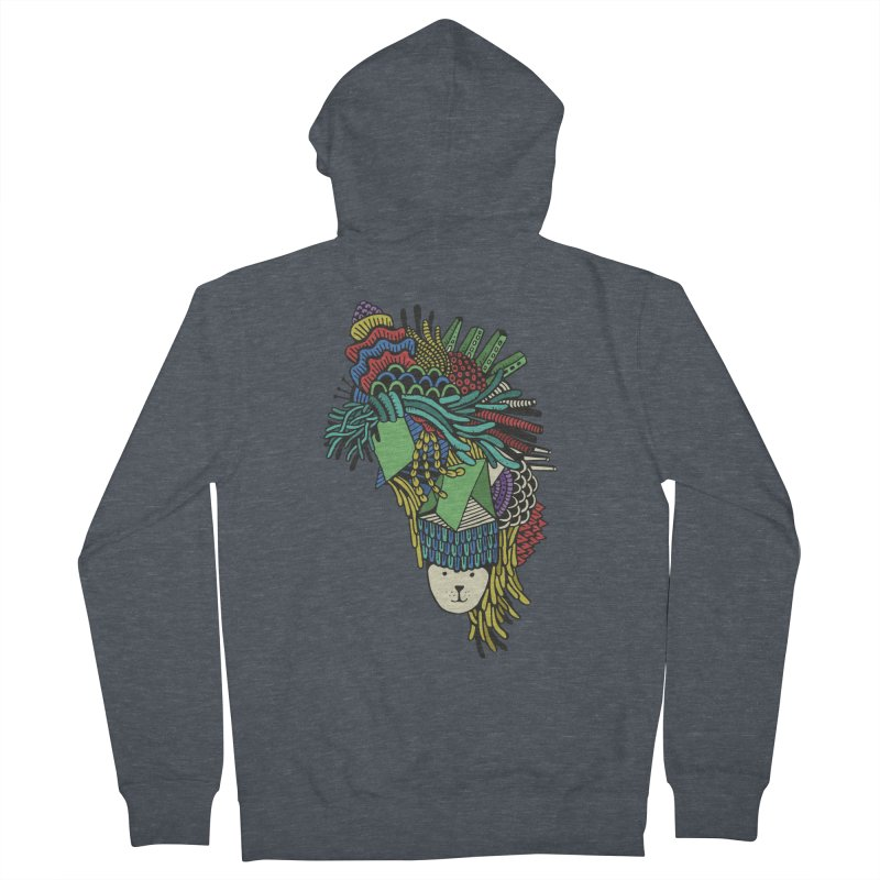 Colorful Vegetables Men's French Terry Zip-Up Hoody by The Babybirds