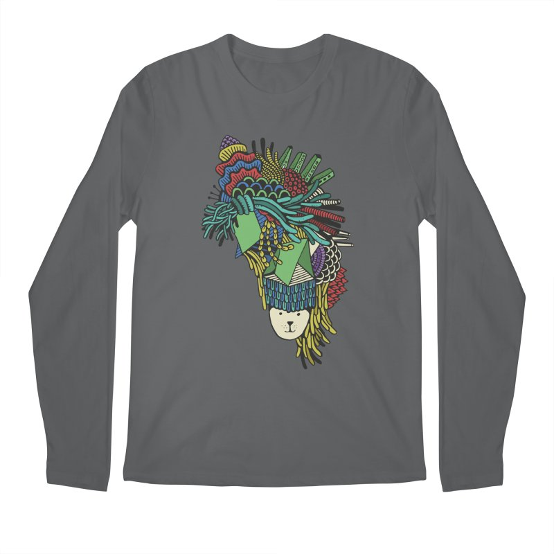 Colorful Vegetables Men's Longsleeve T-Shirt by The Babybirds