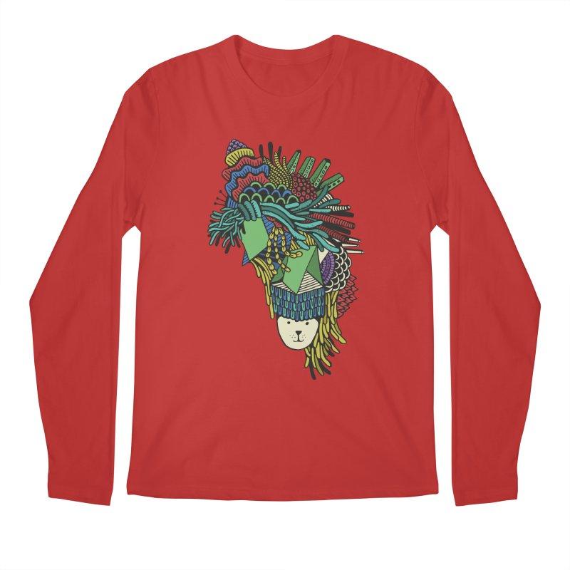 Colorful Vegetables Men's Regular Longsleeve T-Shirt by The Babybirds