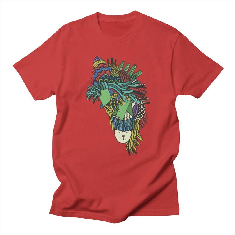 Colorful Vegetables Men's Regular T-Shirt by The Babybirds