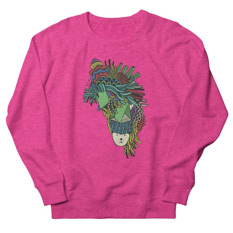 Colorful Vegetables Women's French Terry Sweatshirt by The Babybirds
