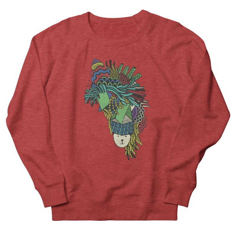 Colorful Vegetables Men's French Terry Sweatshirt by The Babybirds