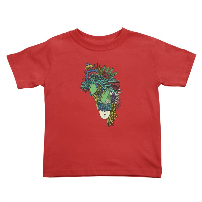 Colorful Vegetables Kids Toddler T-Shirt by The Babybirds