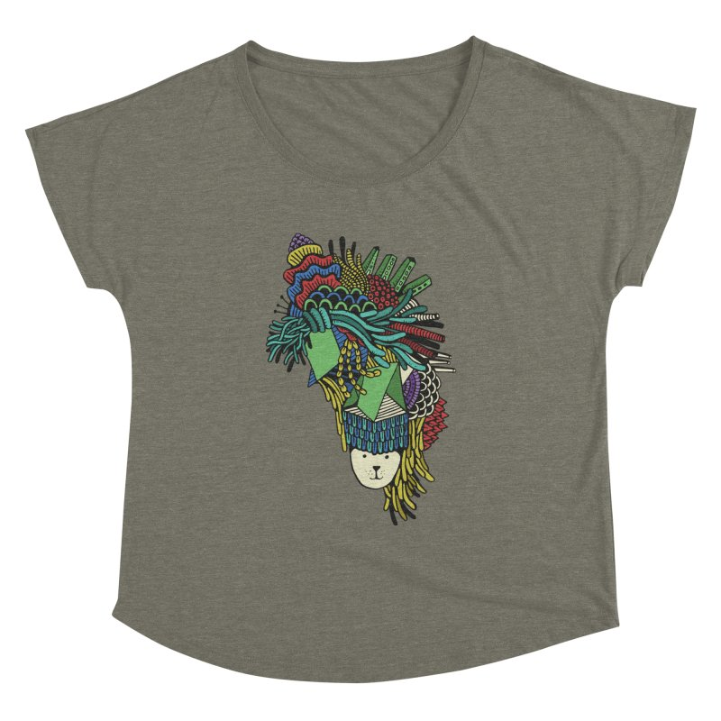 Colorful Vegetables Women's Dolman by The Babybirds