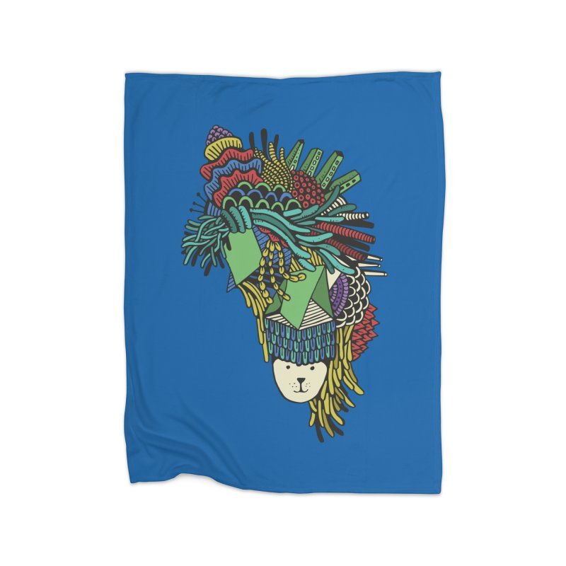 Colorful Vegetables Home Blanket by The Babybirds