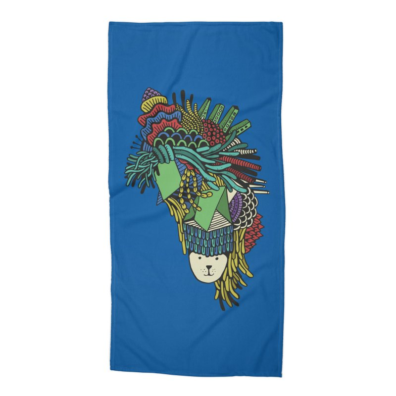 Colorful Vegetables Accessories Beach Towel by The Babybirds