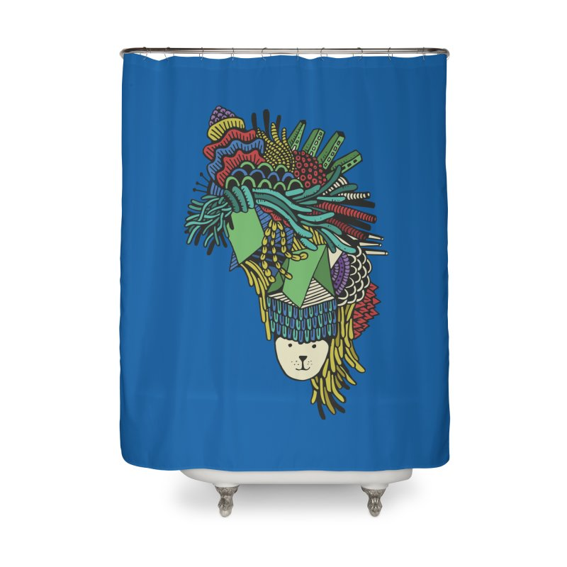 Colorful Vegetables Home Shower Curtain by The Babybirds