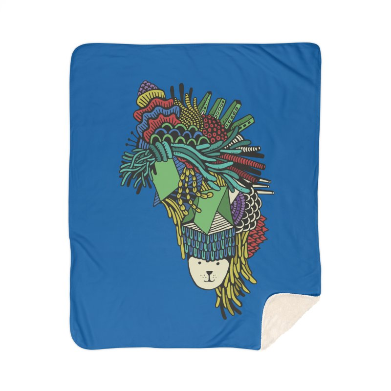 Colorful Vegetables Home Sherpa Blanket Blanket by The Babybirds